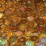 Bitcoins mynt